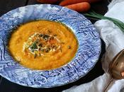 Ricetta vegetariana: vellutata carote all'arancia