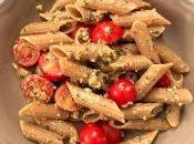 Pennoni legumi cereali pesto vegano salvia noci