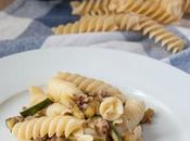 Eliche Pasta Salame Zucchine