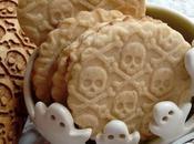 Fantasie zucche, scheletri teschi biscotti Halloween