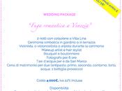 """matrimonio """"solo due"""" Murano-Venezia"""