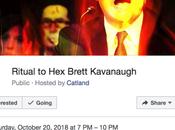 Streghe lanceranno maledizione Kavanaugh rituale occulto York