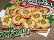 Biscotti salati alle olive verdi