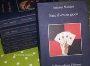 FATE VOSTRO GIOCO Antonio Manzini