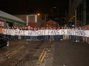 rappresentative tifosi incontrano Premier League. temi trattati 'dialogo strutturato', safe standing, orari match ticketing