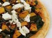 #VEGGYME: Farinata leggera spinaci, zucca feta