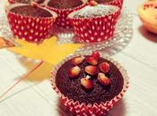 Muffin cioccolato melograno