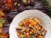 Gnocchi castagne zucca pecorino toscano