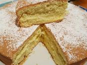 Torta margherita all'arancia senza glutine, grassi, lievito latte