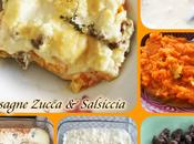 Lasagne Zucca Salsiccia