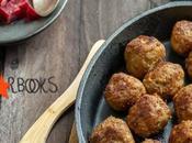 Polpette svedesi insalata barbabietole Starbooks