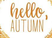 Hello autumn (fall beauty routine 2018)