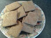 Crackers integrali semini