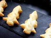 Alberi sfoglia ripieni zucca gorgonzola cotti friggitrice aria