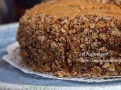 Coffee Walnut cake (torta caffè noci)