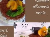 Risotto cioccolato all'arancia menta:un'insolito dessert!