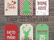 Etichette regali Natale stampabili fai-da-te