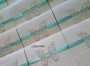 Inviti Prima Comunione farfalle tiffany