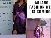 Milan fashon week coming
