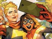 Sunday Artist Showcase! Riflettori Julian Totino Tedesco Capitan Marvel!