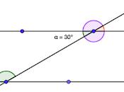 Problema svolto: calcolare ampiezza angoli coniugati formati rette parallele tagliate trasversale