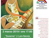 Suzanne: romanzo della salentina Lara Savoia marzo allo Spazio Seicentro Savona Milano