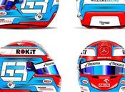 Bell G.Russell 2019 Designs painted Racing
