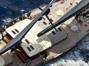 Riposo forzato flotta della loro piana superyacht regatta
