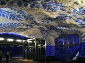 Tour delle stazioni metro Stoccolma: arte design