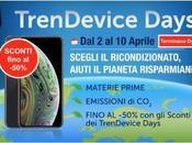 Terminano domani Sconti TrenDevice Days: fino -50% Smartphone Tablet Ricondizionati