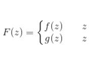 prolungamento analitico funzioni polidrome