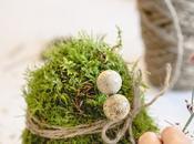 L'uovo muschio green