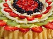 Crostata morbida frutta fresca.
