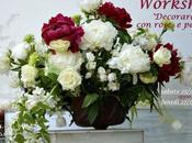#fioridivenerdì_workshop floreale: 'Decorare rose peonie' alla moda oggi