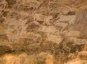Central India graffiti Bhimbetka