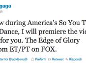 Edge Glory: domani video