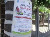 """metodo davvero poco """"ecologico"""" pubblicizzare l'Ecocentro"""