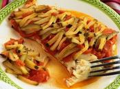 Filetti cernia crosta sale verdure