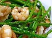 Orzotto tiepido gamberi asparagi