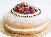 Torta Paradiso senza glutine crema latte