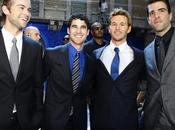 Alla sfilata Versace, Chace Crawford, Darren Criss