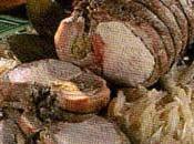 Arrosto maiale farcito olive