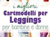 migliori cartamodelli leggings bambine donne