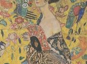 Schemi punto croce: Lady with Gustav Klimt
