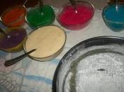Torta arcobaleno.