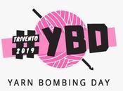 Movimento cento artisti mondo presenta yarn bombing trivento piu' grande esposizione della creativita' cielo aperto