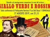 """""""Giallo Verdi Rossini"""": mistero musica agosto Palazzetto Baviera"""