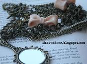 Mirror necklace wrap bracelet seen nicole richie