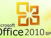 Disponibile Service Pack Microsoft Office 2010