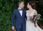 [Real Wedding] Garofani Protee bordeaux romantico matrimonio d'estate
